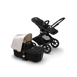 Коляска 2 в 1 Bugaboo Fox2 Complete BLACK-FRESH WHITE