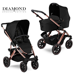 Коляска 2 в 1 FD-Design Salsa 4 AIR Diamond Rose Gold