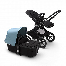 Коляска 2 в 1 Bugaboo Fox2 Complete BLACK-VAPOR BLUE